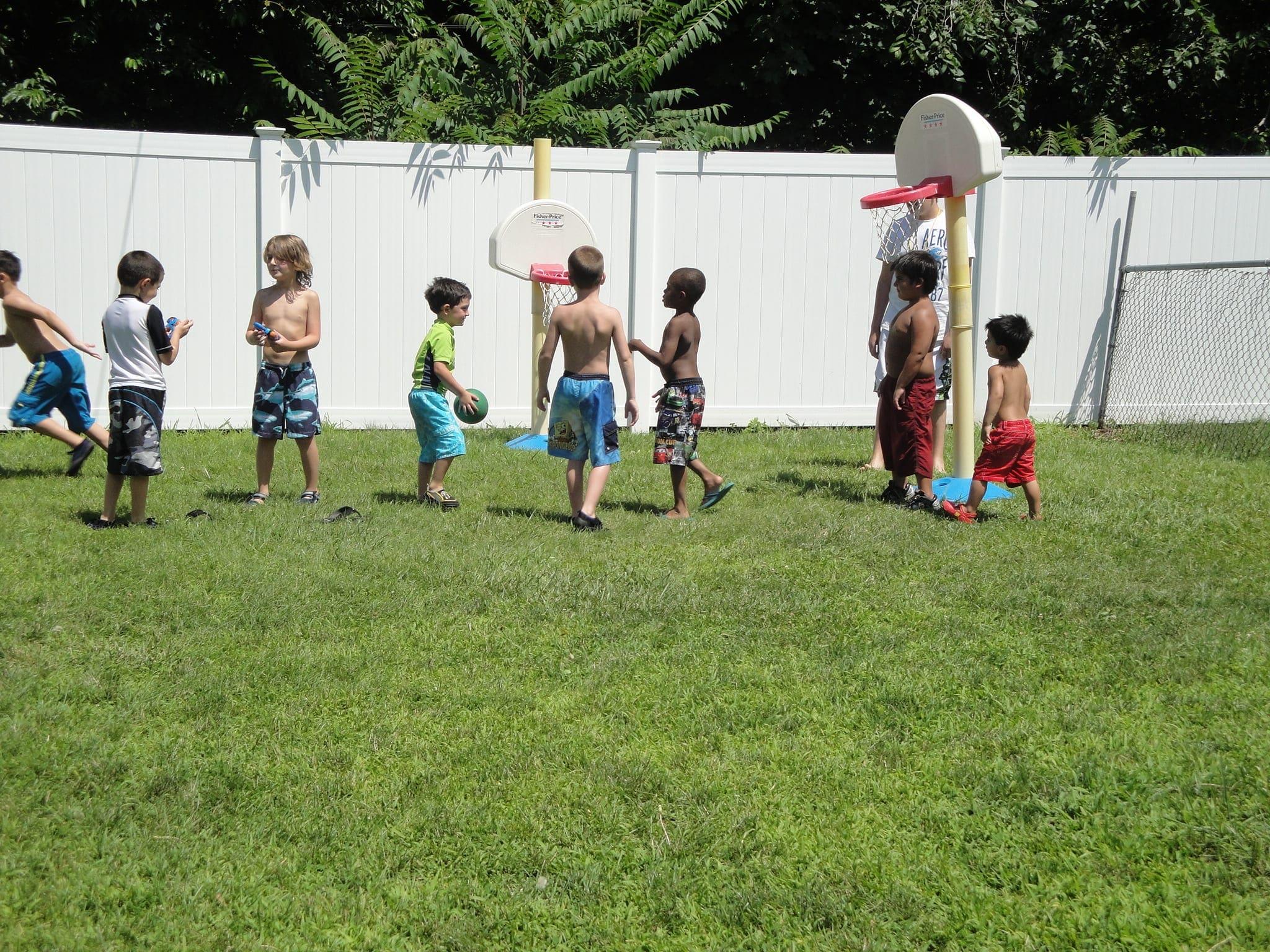summer Camp - basketball fun