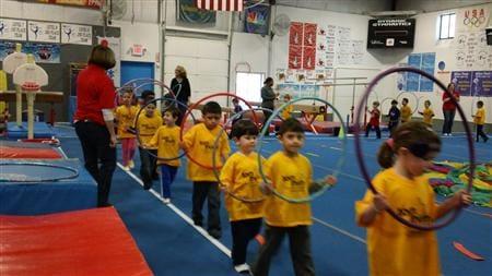 Tom Thumb Preschool mini Olympics