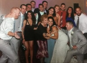 tom thumbers at a wedding