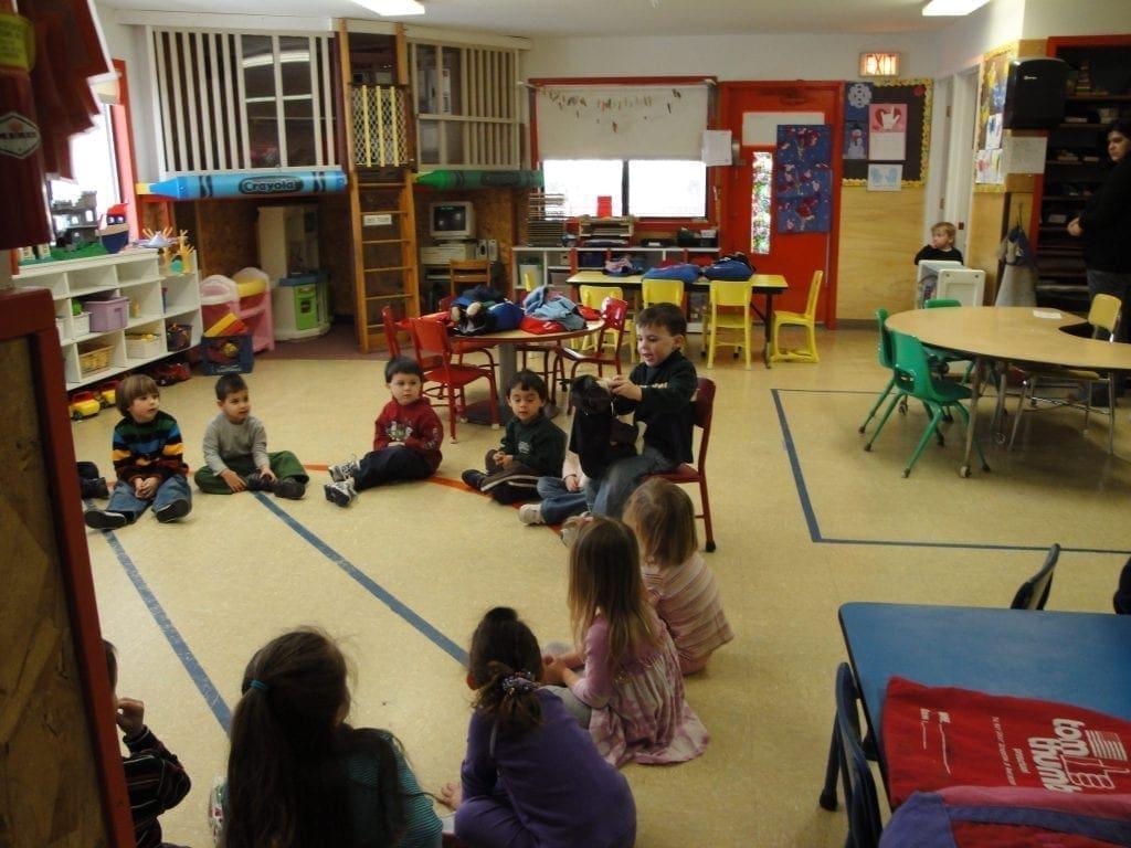 tom thumb preschool students