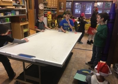 kids playing at stay and play club after school program