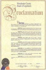 Westchester County Proclamation
