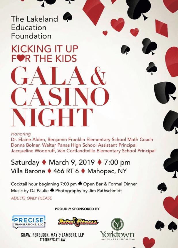 Kids Gala & Casino Night