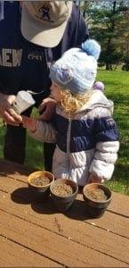 bella planting seeds