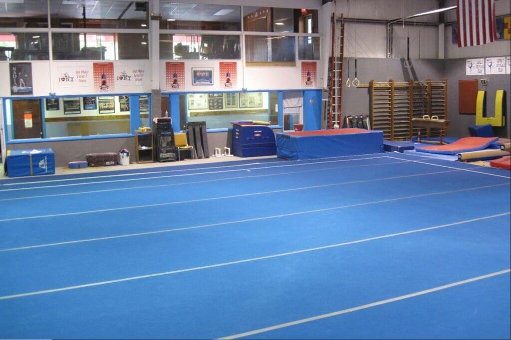dynamic gymnastic gym floor